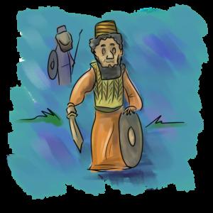 Zweiter Zyklus: Ehud (mit Schamgar)